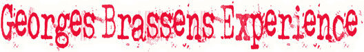 Georges Brassens Experience
